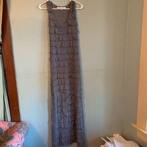 Max Studio many tiered column tank dress